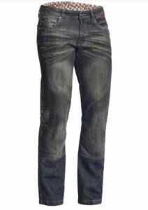 Lindstrands Blaze Pants Denim Motorcycle Jeans Blue