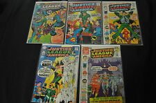 JUSTICE LEAGUE OF AMERICA #23-25, 66,69,72,77,97 (1.0-4.5) READER LOT