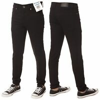New ENZO Boys Kids Designer Stretch Chino Skinny Stretch Fit Basic Jeans