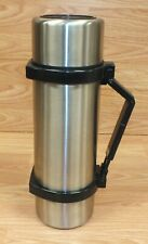 Genuine Coleman (5565-741) Stainless Steel Camping / Outdoor Thermos **READ**