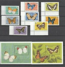 GAMBIA, 1994 Schmetterlinge 1944-51, Block 235-36 **, (28204)