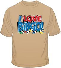 I Love Bingo T Shirt You Choose Style, Size, Color 10658