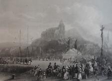 TREPORT, REINE D'ANGLETERRE , LOUIS PHILIPPE 2 SEP. 1843. REYER RIFFAUT, 19 ÈME