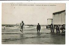 CPA-Carte Postale-FRANCE- Boulogne sur Mer- Cabines de bains et Baigneurs -1909