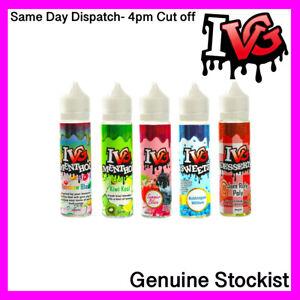 IVG E-Liquid E-Cig Juice 0% 50ml Refill Bottle Compatible with all Vapes