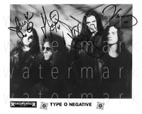 Type O Negative signed 8X10 inch photo poster picture autograph RP