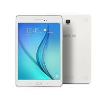 """Samsung Galaxy Tab A SM-T555 Tablet 9.7"""" 16GB WiFi+4G LTE Android Unlocked White"""