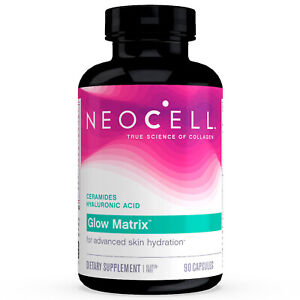 NeoCell Glow Matrix Advanced Skin Hydrator 90 Capsules FREE Shipping Made in USA