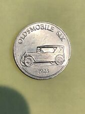 Oldsmobile Six 1923 Antique Car Series 1 Commemorative Coin Token Sunoco DX