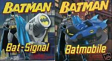 BATMAN ~ REPLICA MINI BATMOBILE KIT & BAT SIGNAL ~ INCLUDES 48 PAGE BOOKLET