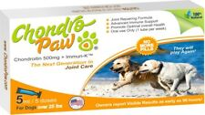 Joint care Supplement for Dogs Over 25 lbs, Chondropaw 5x5 mL vials.