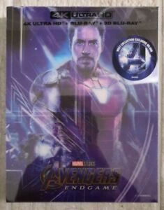 Steelbook Avengers Endgame Edition WeET Lenticulaire B1 4K Neuf / New