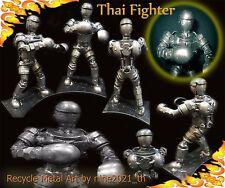 Muay Thai Robot Thai Boxer Metal Handmade Collection GAME MOVIE Models Diecast