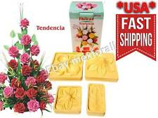 Flower Molds 3D KIT Foam Craft Moldes de Flores Foamy Eva foam MODEL TENDENCIA