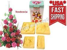 Flower Molds 3D KIT Foam Craft Moldes de Flores Foamy Eva foam MODEL TENDENCIA