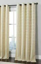 "NEW VCNY Trinity Grommet Golf One Curtain Panel, Gold, 54"" x 84"""