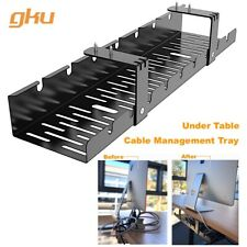 gku™ Under Desk Cable Management Tray Cord Wire Organizer Wire Management AC1011