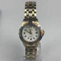 Biomet Womens Quartz Stainless Steel Sports Wristwatch two tone