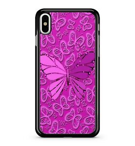 Stunning Fantastic Lush Pretty Pink Butterflies Pattern 2D Phone Case Cover