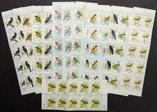 EDW1949SELL : MALAWI 1988 Scott #518-33 Birds. 10 Cplt sets. VF MNH Catalog