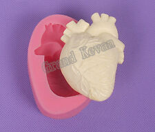 Soap Molds Halloween Heart Mold Gum Paste Mold 3D Christmas Silicon Decoration