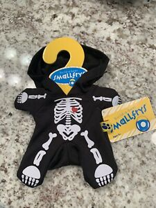 Build A Bear Skeleton Costume Smallfry Buddies Outfit Clothes Halloween