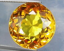 ROUND-FACET NATURAL BRAZILIAN GOLDEN CITRINE: SIZES AVAILABLE FROM 2mm - 20mm