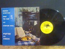 Brenda Wootton & Cornish FOLK copricapezzoli e Crema LP FEM VOX folk EX!!!