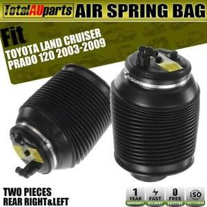 2x Air Suspension Springs Bags for Toyota Land Cruiser Prado 120 2003-2009 Rear