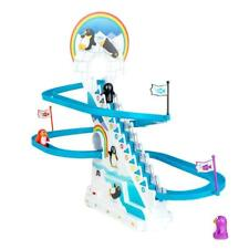 Playful Penguin Race Stairs Board Game with Sound - Boxed Retro Toy