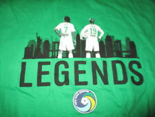 NEW YORK COSMOS Legends RAUL No 7 and SENNA No 19 (XL) T-Shirt