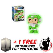 FUNKO POP MEGA MAN GYRO ATTACK GLOW CANADIAN FAN EXPO 2018 EXCLUSIVE + PROTECTOR