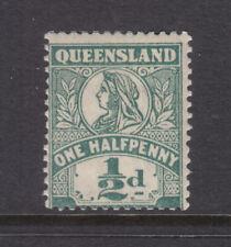 Qld: 1899 1/2d Green Sg 262 Shade? Mh