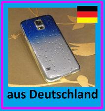 2 Stück Samsung Galaxy S5 Regentropfen & S-Line Schutzhülle HardCase Hülle