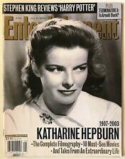 Katharine Hepburn Entertainment Weekly Magazine July 11, 2003 - One Owner VGC!