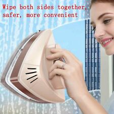 Double-sided glass window cleaning tool Cleaner magnet Squeegee Blade Wiper