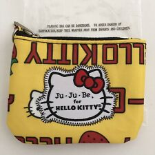JuJuBe Hello Kitty Strawberry Stripe Coin Purse New In Package Limited Edition