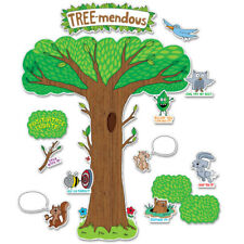 So Much Pun! Tree-mendous Bulletin Board Set CTP3106 NEW DECORATION TEACHER