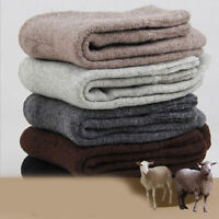 Men's Thick Winter Warm Sock Wool Cashmere Towel Sock Outdoor Sport Casual Socks