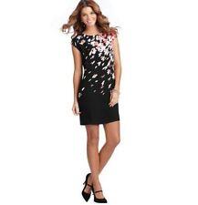 Knee Length Work Petites Short Sleeve Dresses for Women