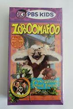 Zoboomafoo - Sense-Sational Animal Friends (VHS, 2001, Slipsleeve) RARE NEW PBS