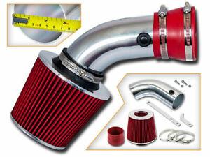 BCP RED 1993-2001 BMW 540i 740i 740iL 4.0 4.4 V8 Power Air Intake Kit +Filter