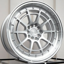 17x9 AodHan AH04 5x100/114.3 +25 Silver Rims (Set of 4)