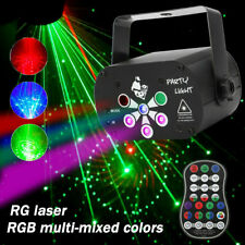 240 Patterns Led Stage Lighting Laser Projector Rgb Party Dj Disco Lights Club