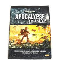 WARHAMMER 40K Apocalypse Reload rulebook Hardcover expansion book