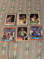 15 Card Old School Basketball Lot Featuring Magic, Kareem and Others! 🔥🐐🏀🏀
