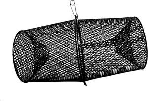 Crawfish Net Trap Heavy Duty Vinyl Minnows Bait And Catch Steel Metal Mesh