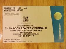 Dundalk v Shamrock Rovers FAI Cup Final 2019 match ticket football Ireland