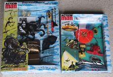 vintage action man 40th anniversary underwater explorer chest diver boxed