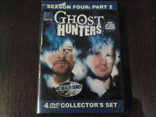 Ghost Hunters Season Four Part 2 Dvd Rare Syfy Scary Bonus Footage GoodCn Horror